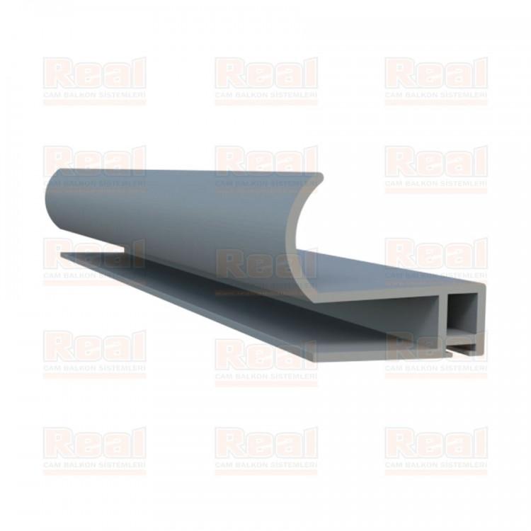 Sürme Alm Bitim Profili 8 mm Mat Eloksal - MAT ELOKSAL