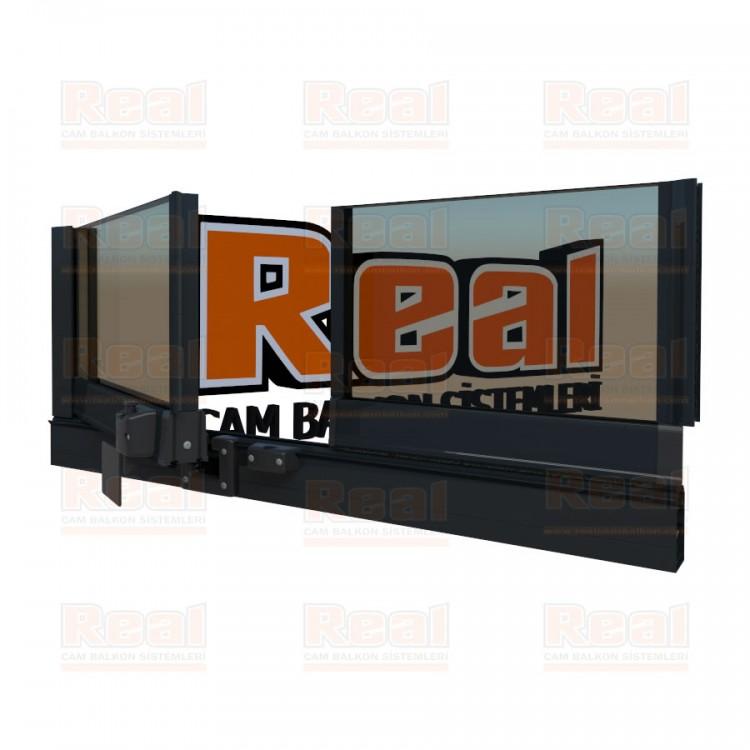 Pro Gold Isıcamlı 21 mm Bronz Cam Antrasit Gri Profil - Bronz Cam