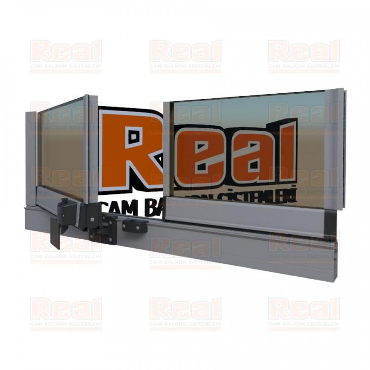Pro Gold Isıcamlı 21 mm Bronz Cam Mat Eloksal Profil - Bronz Cam