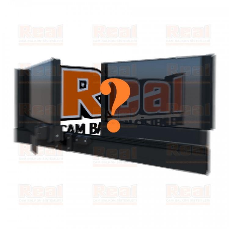Pro Gold Isıcamlı 21 mm Füme Cam Özel Renk Profil - Füme Cam