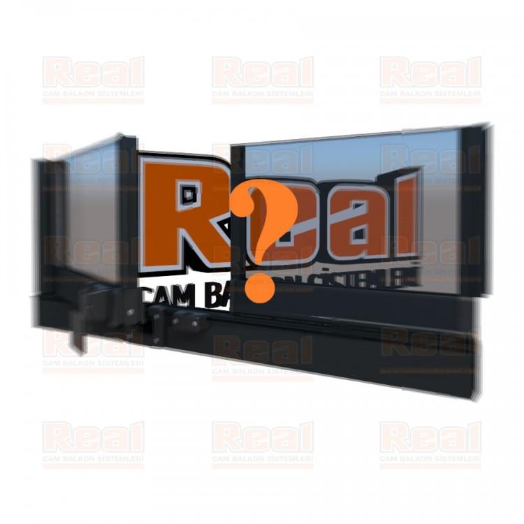 Pro Gold Isıcamlı 21 mm Şeffaf Cam Özel Renk Profil - Şeffaf Cam