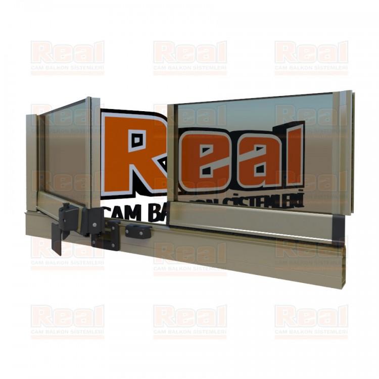 Pro Gold Isıcamlı 21 mm Bronz Cam Parlak Bronz Profil - Bronz Cam