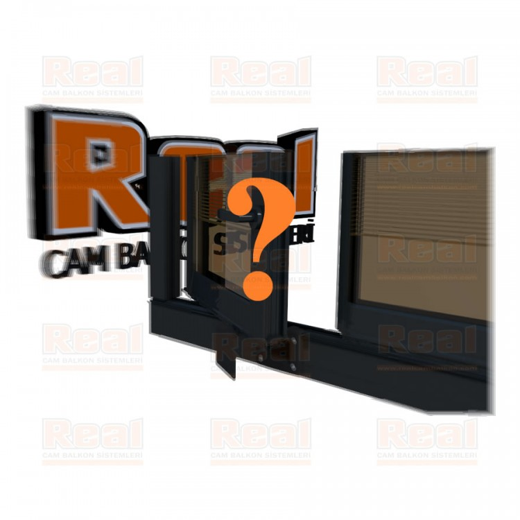 Pro Gold Ispanyolet Kollu 31 mm Bronz Cam Özel Renk Profil - Bronz Cam