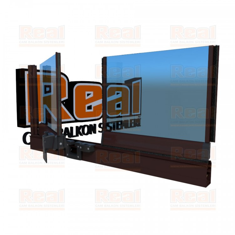 Pro Gold 8 mm Mavi Cam Ral 8016 Profil - Mavi Cam