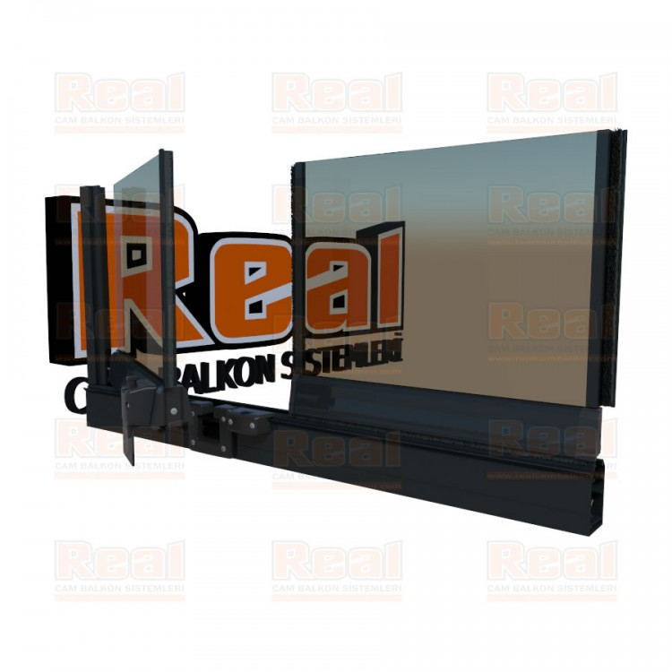 Pro Gold 8 mm Bronz Cam Antresit Gri Profil - Bronz Cam