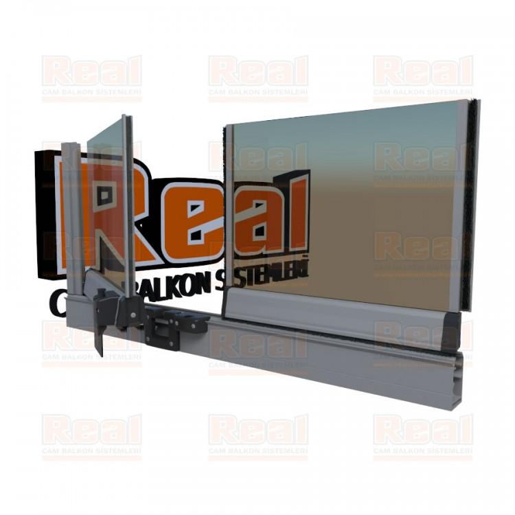 Pro Gold 8 mm Bronz Cam Mat Eloksal Profil