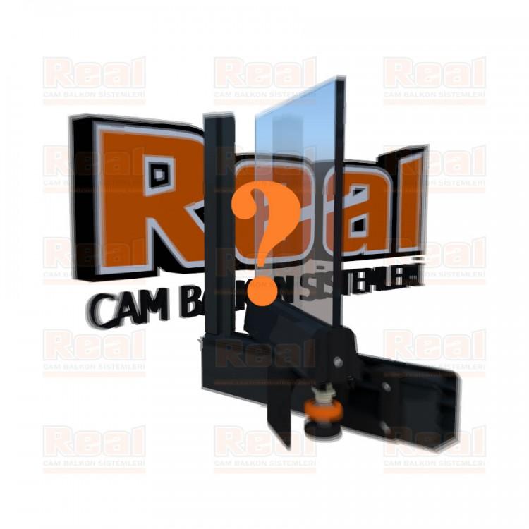Pro Gold 8 mm Şeffaf Cam Özel Renk Profil - Şeffaf Cam