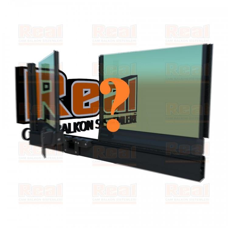 Pro Gold 8 mm Yeşil Cam Özel Renk Profil - Yeşil Cam
