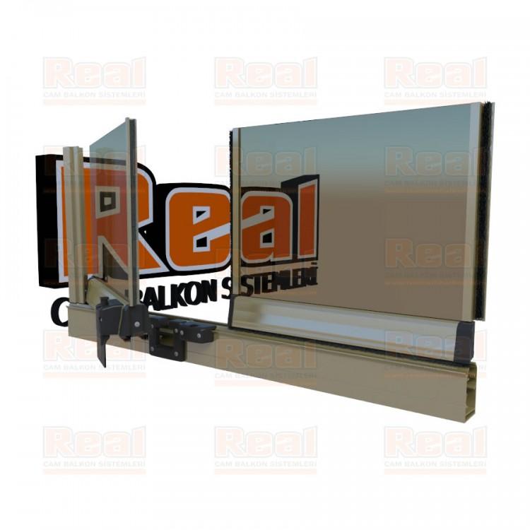 Pro Gold 8 mm Bronz Cam Parlak Bronz Profil - Bronz Cam