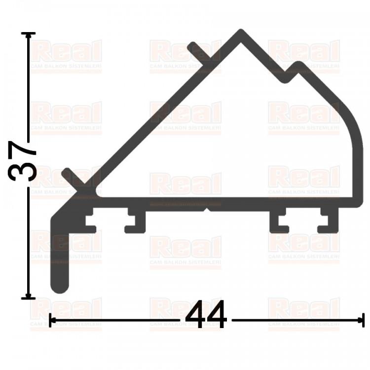135 Derece Adaptör ( Contalı ) Pres Ham