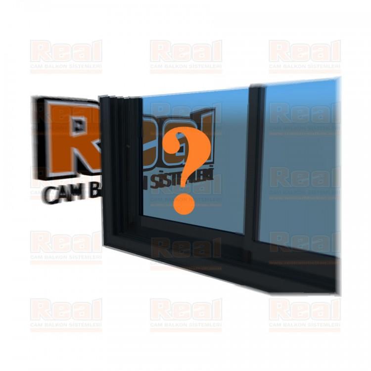 R3 Sürme Seri Eşikli 8 mm Mavi Cam Özel Renk Profil