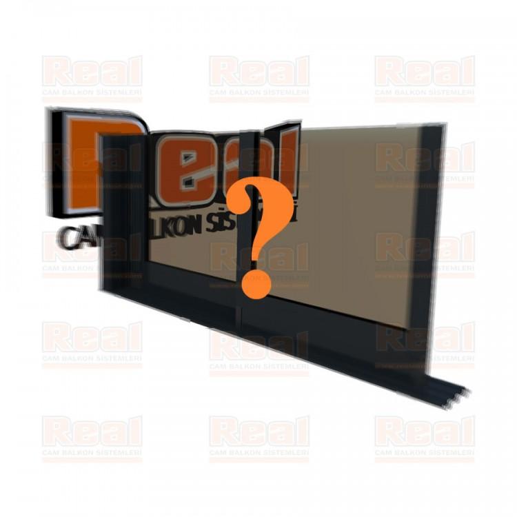 R3 Sürme Seri Eşiksiz Isıcamlı Bronz Cam Özel Renk Profil