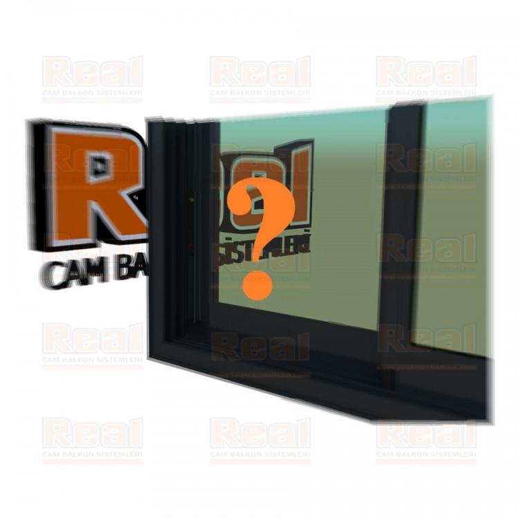 R3 Sürme Seri Eşikli Isıcamlı Yeşil Cam Özel Renk Profil - Yeşil Cam