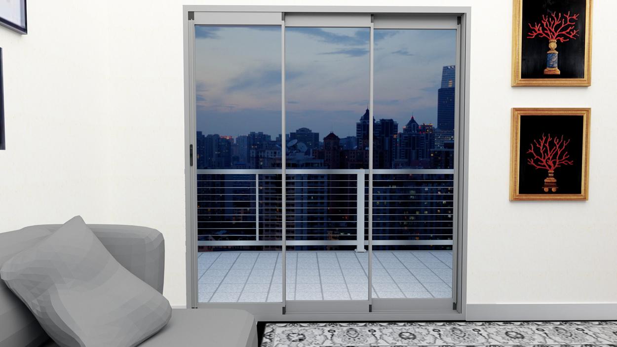 R3 sürme cam balkon eşikli eşiksiz ısıcamlı